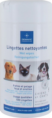 Demavic 100 Lingettes nettoyantes multi-usage