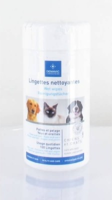 100 Lingettes nettoyantes multi-usage - Demavic