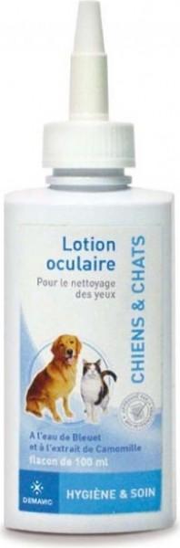 Lotion oculaire nettoyante pour chien et chat