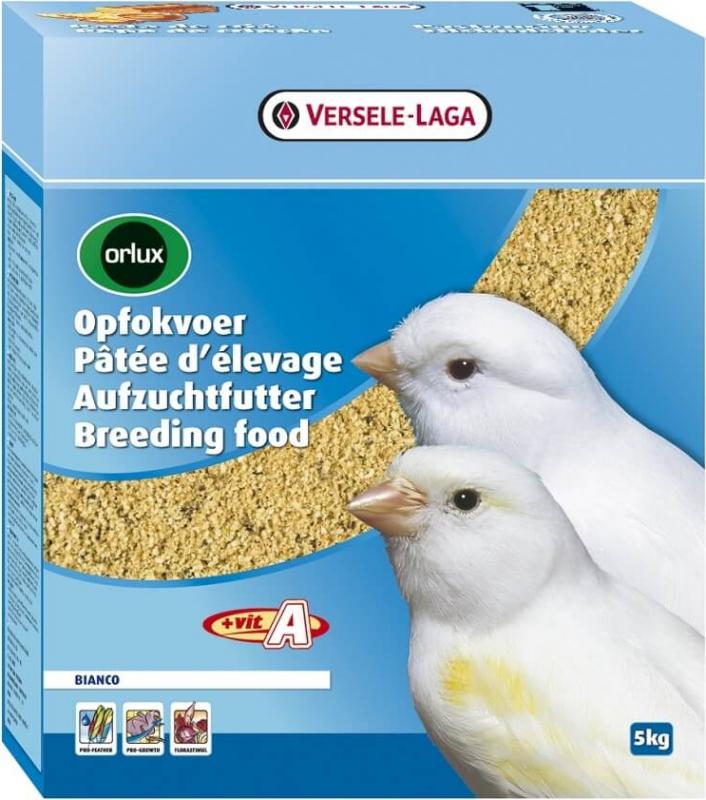 Orlux Pâtée d'élevage Bianco pour l'élevage des canaris blancs et de couleur pâle