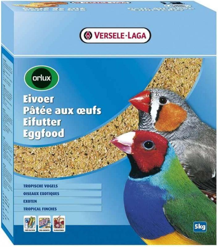 Orlux Pâtée aux oeufs sèche oiseaux exotiques