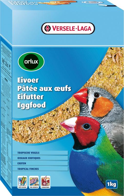 Orlux Paté a base de huevos para pájaros exóticos