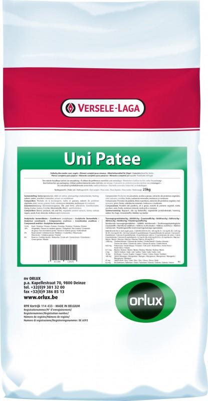 Orlux Uni paté para los pequeños frugi e insectívoros