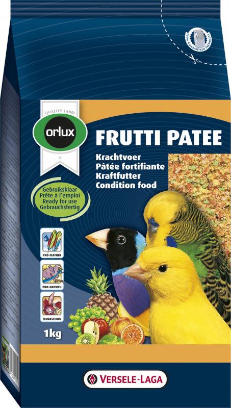 Orlux Frutti pasticcio fortificante multicolore per canarini