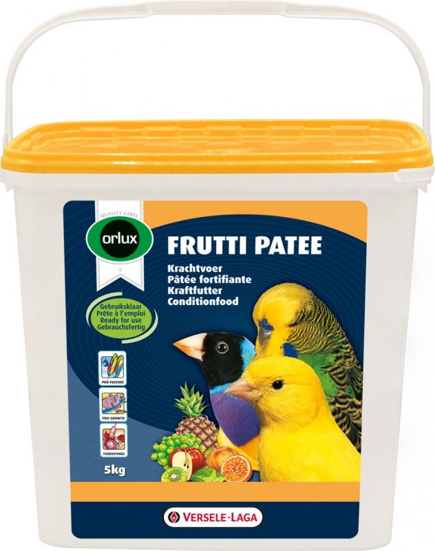Orlux Frutti paté fortificante multicolor para canarios