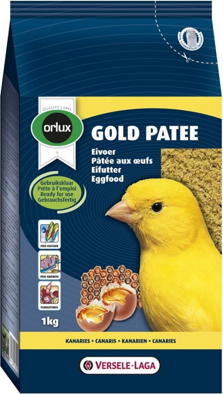 Versele Laga Orlux Gold pâtée aux oeufs pour canaris