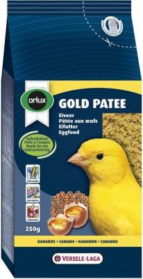 Orlux Gold pâtée canaris pâtée aux oeufs prête à l'emploi pour canaris, oiseaux exotiques et indigènes