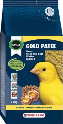 Orlux Gold paté para canarios a base de huevos listo para su consumo; Pájaros exóticos e indígenas.