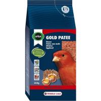 Orlux Gold pâtée rouge entretien du plumage rouge des canaris