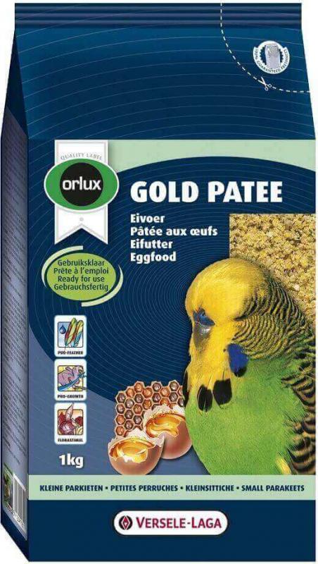 Orlux Gold pâtée petites perruches, euphèmes et inséparables