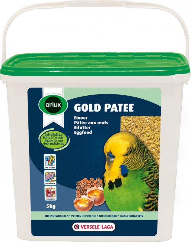 Orlux Gols paté para periquitos pequeños así como para pájaros inseparables y de color
