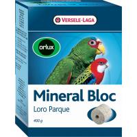 Orlux Mineral Bloc Loro Parque ladrillo para picotear para grandes periquitos y loros