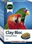 Orlux Clay Bloc Amazon Rive pierre à picorer pour grandes perruches et perroquets