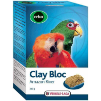Orlux Amazon River Clay Cake for Parrots and Big Parakeets