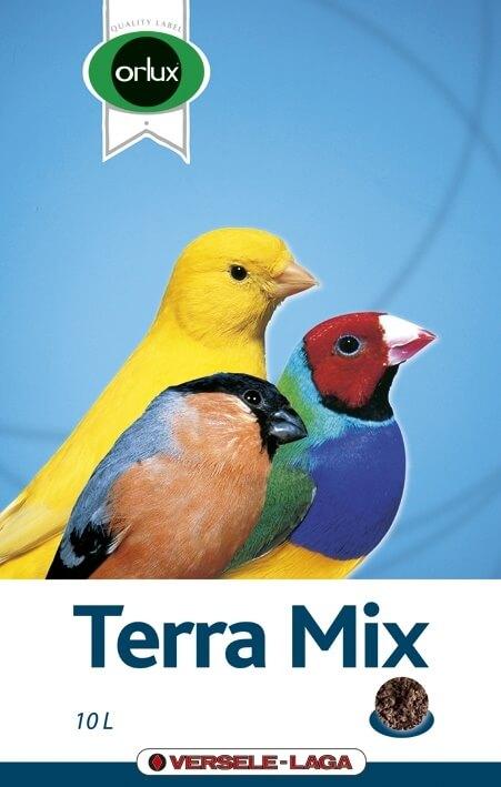 Orlux Terra Mix torba da beccare per uccelli ornamentali