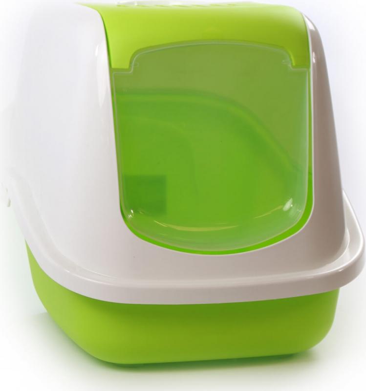 Maison de toilette Nestor Blanc/vert pomme