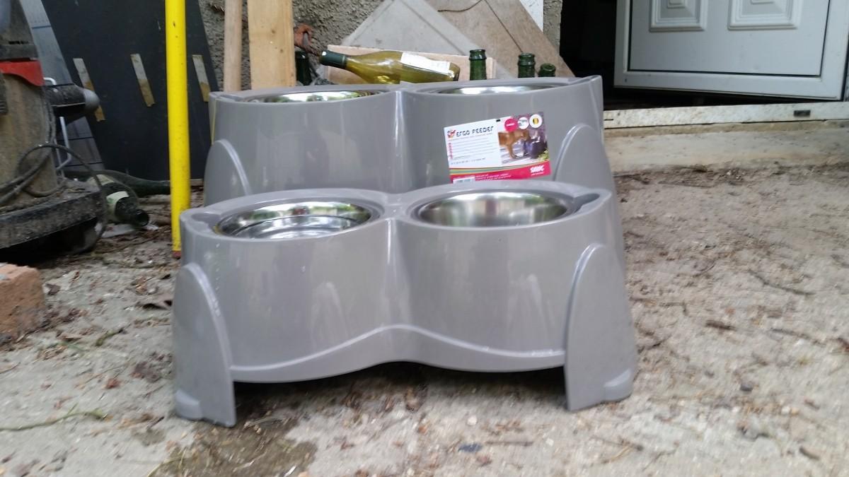 Gamelle Pour Chien Hauteur avis sur ergo feeder - gamelles pour chiens qui souffrent d
