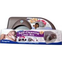 Litière auto nettoyante - Maison de toilette pour chat