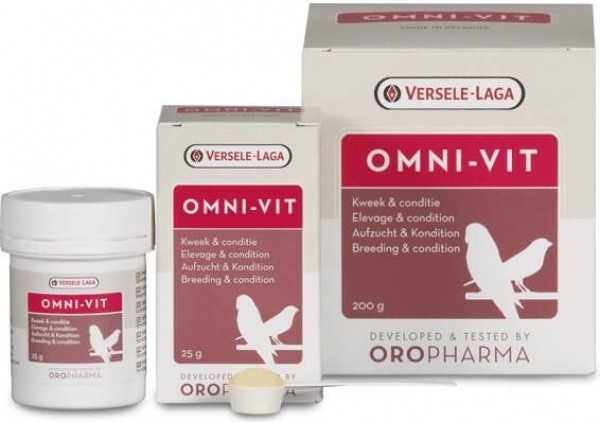 Oropharma Omni-Vit Vitamines pour une condition optimale