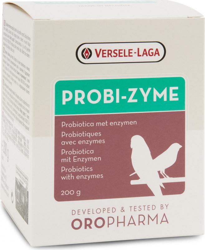 Oropharma Probi-Zyme probiotica en verteringsenzymen voor vogels