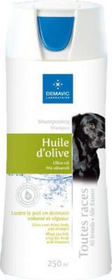 Shampooing à l'huile d'olive pour chien
