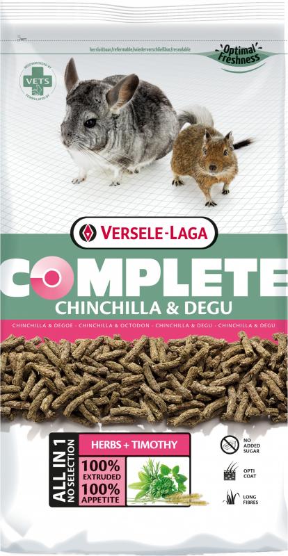 Versele Laga Chinchilla Complete para chinchilas et Esquilos
