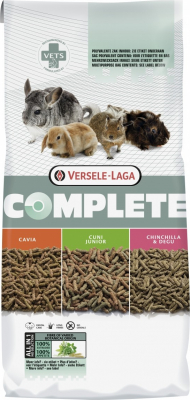 Chinchilla & Degu Complete para chinchillas y degús