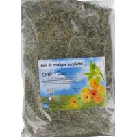 Foin aux plantes : Ortie et Souci 500 g