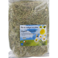 Foin aux plantes : Pissenlit et Camomille 500 g