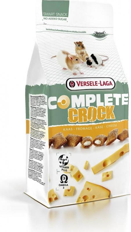 Crock Complete Cheese para varios roedores omnívoros