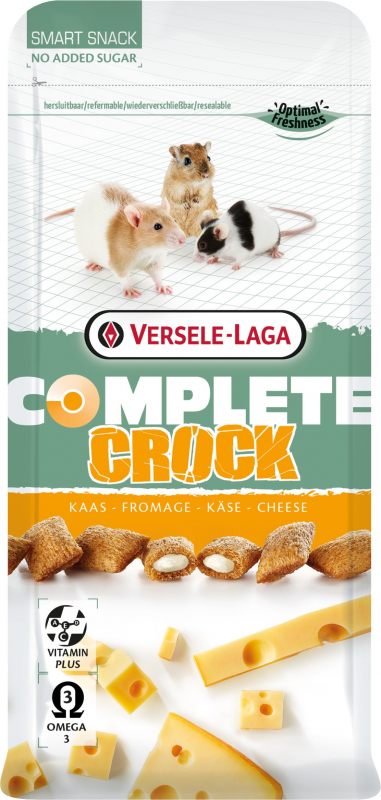 Versele Laga Complete Crock cheese pour rongeurs omnivores