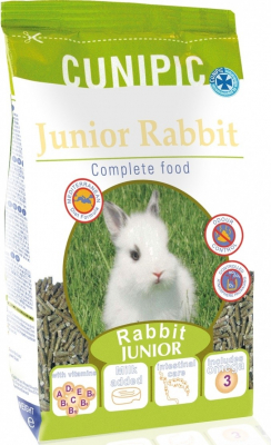 Cunipic Premium Aliment complet pour lapin junior