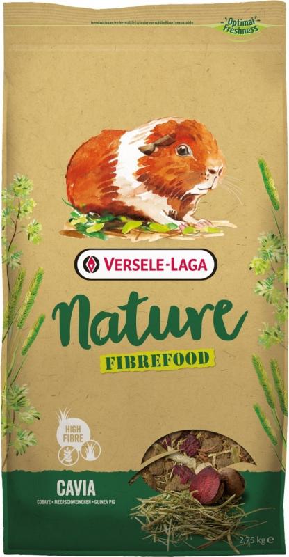 Versele Laga Cavia Nature Fibrefood Aliment riche en fibres pour cobaye sensible