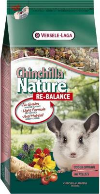 Chinchilla Nature Re-Balance pour les chinchillas plus âgés, peu actifs ou qui souffrent d'un excès de poids