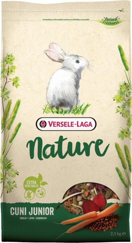 Versele Laga Nature Cuni Junior jeune lapin jusqu'à 6 mois