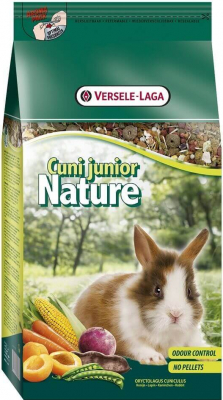 Cuni Junior Nature pour jeunes lapins et lapins nains jusqu'à l'âge de 6 mois