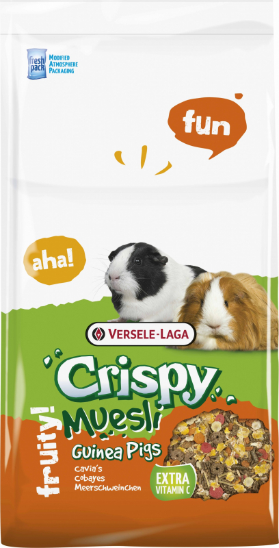 Cavia Crispy Komplette Mischung für Meerschweinchen