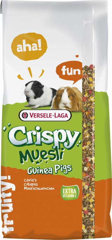 Versele Laga Crispy Muesli Guinea Pigs Mistura completa para porquinhos da Índia