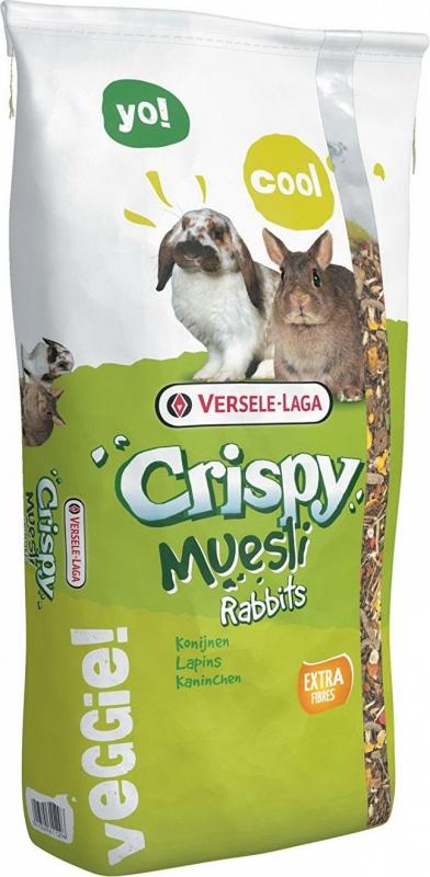 Versele Laga Crispy Muesli Rabbits lapin nain