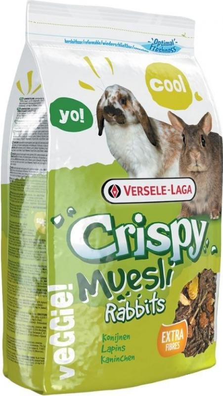 Versel Laga Crispy Muesli Rabbits Mélange complet pour lapin nain