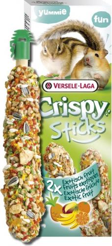 Versele Laga Crispy Sticks Fruits Exotiques pour hamsters et écureuils