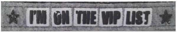 Collier réglable Envy VIP gris