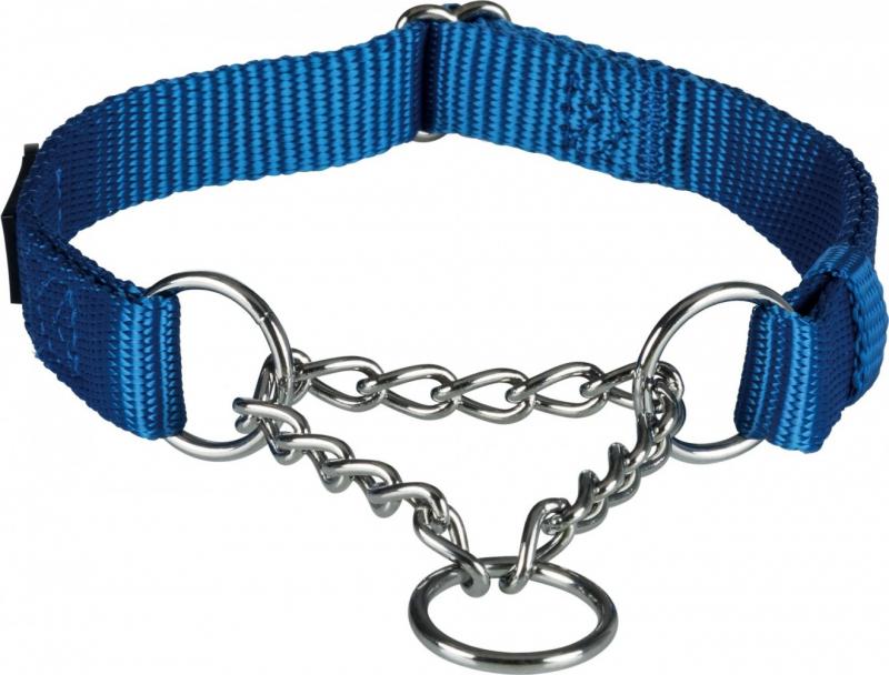 Premium Collier semi-étrangleur bleu royal