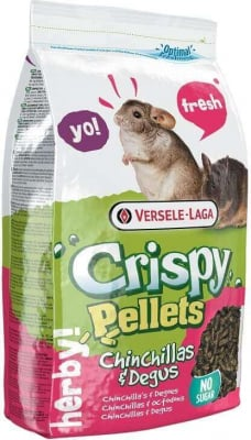 Chinchilla & Degu Crispy Pellets alles in einem-Futter