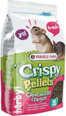 """Versele Laga Crispy Pellets Chinchilla & Degus formule """"tout en un"""" pour chinchillas et dègues"""