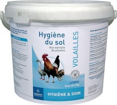 Higiene del suelo para aves Litavic - Demavic
