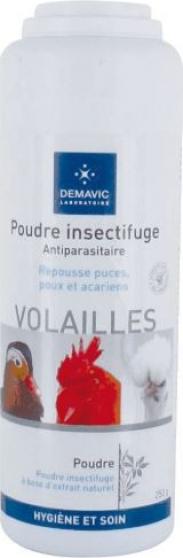 Poudre insectifuge pour volailles - Demavic