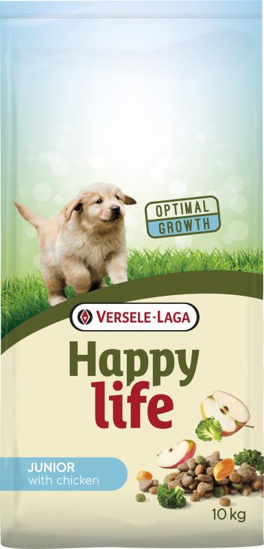 Happy life Junior Chicken pour chiots et chiens en cours de croissance