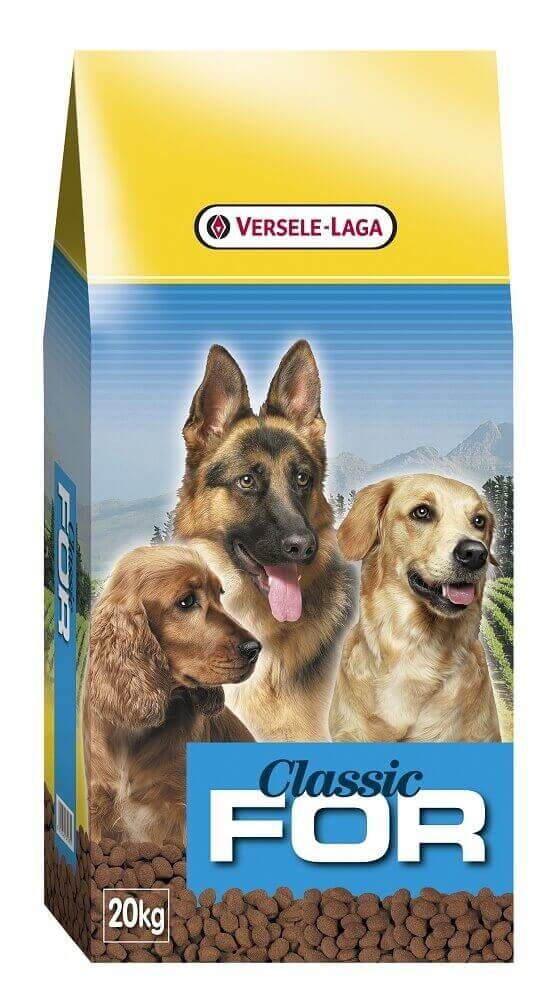 Versele-Laga Classic For - 20 kg - pour chiens adultes de