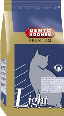 BENTO KRONEN PREMIUM Light - pour les chats âgés, moins actifs ou les chats présentant une tendance a l'obésité